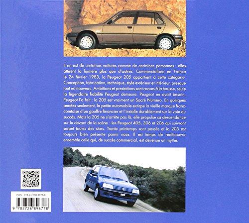 Livre la Peugeot 205 de mon père