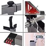 PLAYH-Supporto-per-Manubri-Supporto-per-Bilanciere-Squat-Rack-Bench-Press-Multifunzionale-per-Palestra-Domestica-Supporto-per-Allenamento-della-Forza-Fitness-capacita-di-Carico-300-kg
