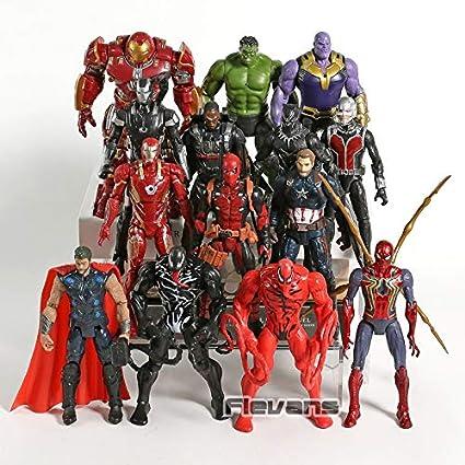 Amazon.com: VIETFR Marvel Avengers Venom Carnage Spiderman ...