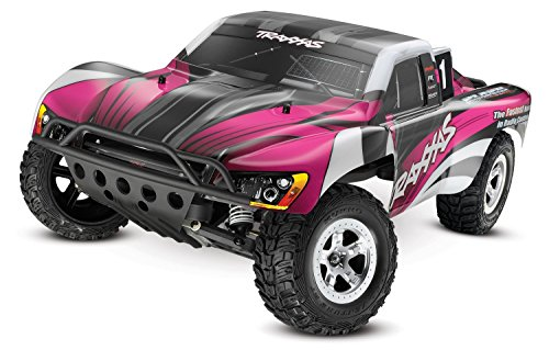 Traxxas 1 10 Slash 2WD RTR with 2.4GHz Radio (No Battery) - Pink