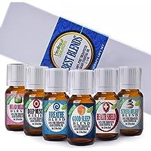 Healing Solutions Best Blends Essential Oil Set (Set of 6)