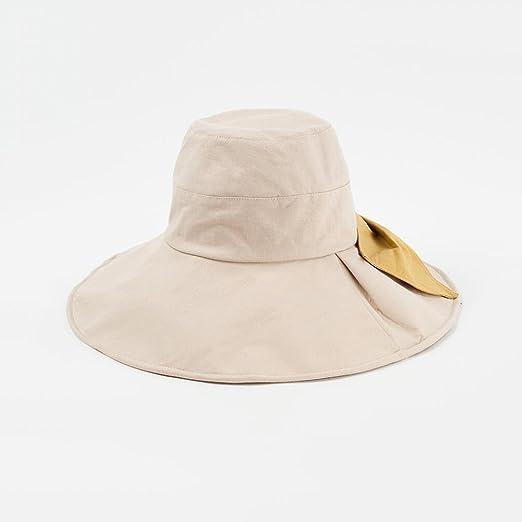 YXINY Viseras Sol Sombrero Plegable Amplio Borde Gorra Secado ...