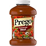 Prego Italian Sauce, Flavored with Meat, 67 oz
