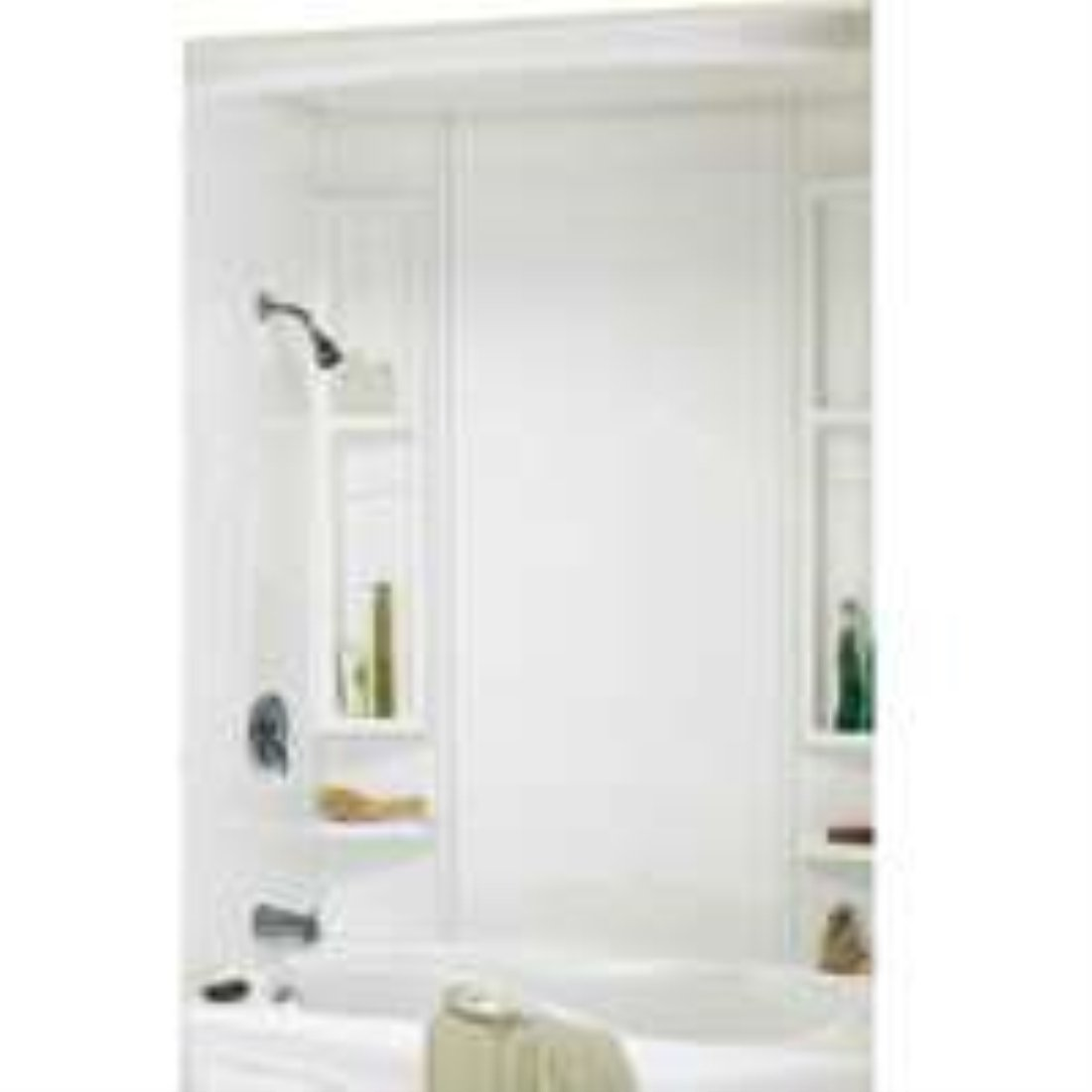 5-piece White Tub Wall Kit - Bathtub Walls And Surrounds - Amazon.com