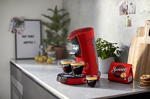 Philips HD6564/80 Machine à café à dosettes Senseo Viva Café 1450 Rouge