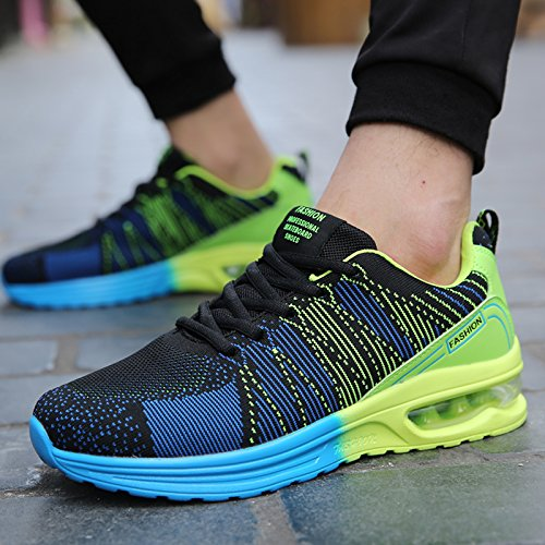 Sports Wild nbsp;Spring Men's Mesh Breathable green Shoes Leisure nbsp; dark GUNAINDMX qwS0ER