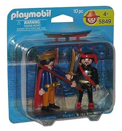 Amazon.com: Playmobil 5849 Mandarin Prince & Ninja Warrior ...