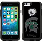 Michigan State - Watermark 1 design on Black OtterBox Commuter Series Case for iPhone 6 Plus and iPhone 6s Plus