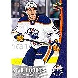 Connor McDavid Hockey Card 2015-16 UD NHL Star Rookies #1 Connor McDavid