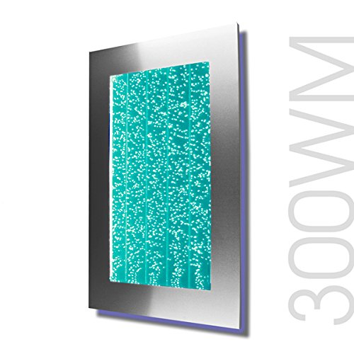 Table Top 200FS Bubble Wall Panel Aquarium RGB LED Lighting Indoor Fountain Water Fall Feature by Bubblewall