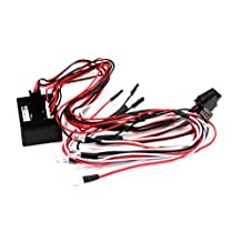 Integy RC Model Hop-ups C23601 Complete LED Light (8) System for 1/10 Control Box to RX