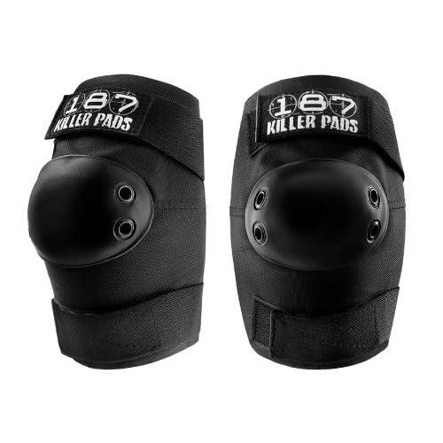 187 killer pads Killer Pads équipement de protection elbowpads, noir