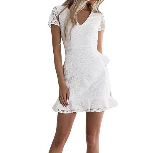 Lace Cocktail Bandage Dress
