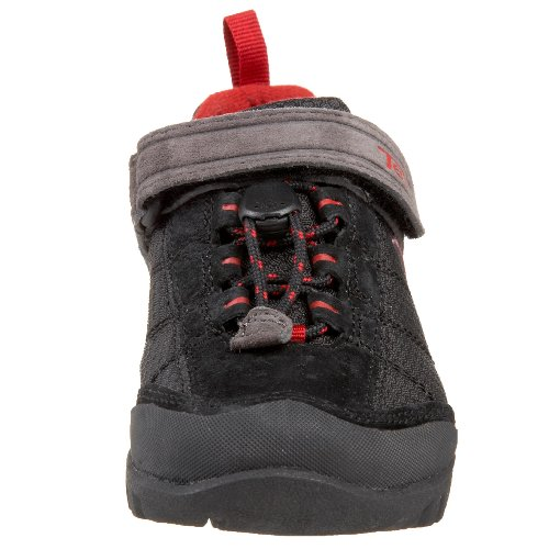 VECJUNIA Boys Girls Solid Candy Round Toe Comfortable Anti-Skid Fabric Elastic Strap Flats Sneakers