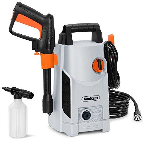 VonHaus 1600W Pressure Washer with Accessories – Outdoor Home/Patio & Car...