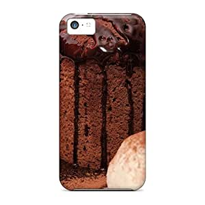 Pretty Dpw439IJxC Iphone 5c Case Cover/ Cupcakes Food Series High Quality Case