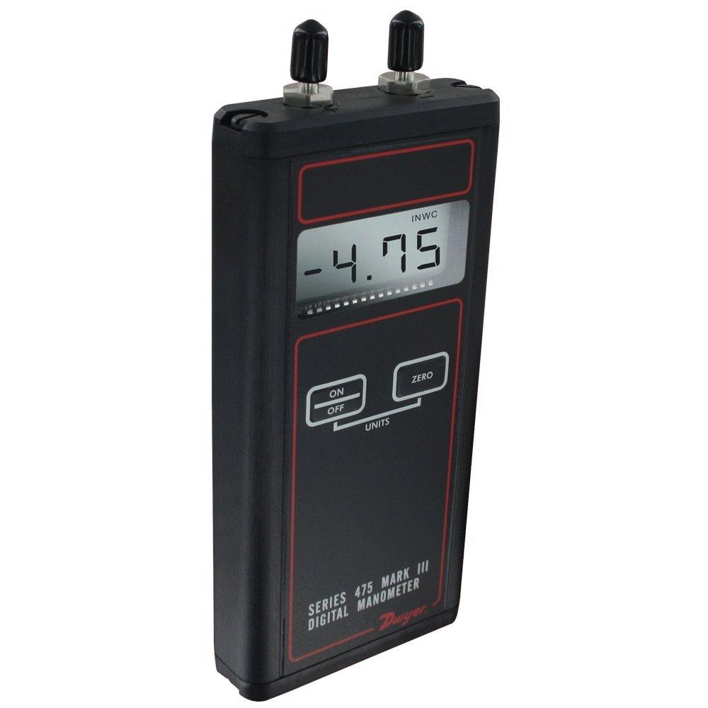 Dwyer/® Differential Pressure Digital Manometer Handheld FM Approved 475-000-FM 0-1.0 w.c.