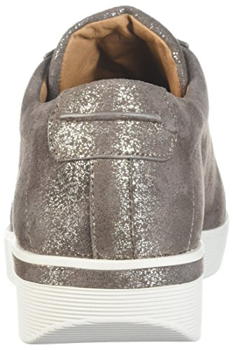 Dolce Anime Womens Haddie Cuneo Basso Laceup Sneaker Cacao