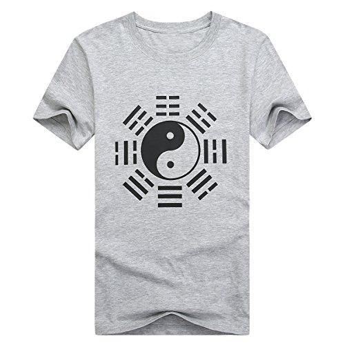 ICNBUYS-Womens-Tai-Chi-T-shirt-Eight-Trigrams-Grey