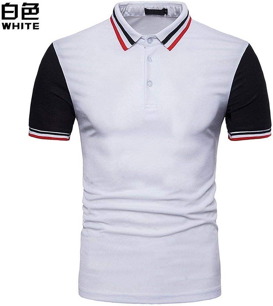 BOLAWOO Camisa De Polo De Manga Corta para Hombre Mode De Polo ...
