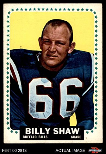 1964 Topps # 38 Billy Shaw Buffalo Bills (Football Card) Dean's Cards 6 - EX/MT (1964 Buffalo Bills)