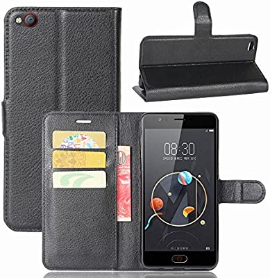 Guran® Funda de Cuero PU para ZTE Nubia M2 Lite Smartphone Función ...