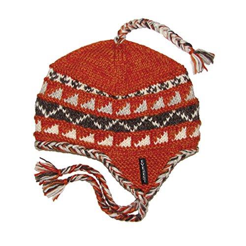 f88b635f6 Amazon.com : Everest Designs Sherpa Earflap, Orange, One Size : Clothing