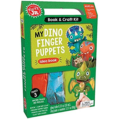 Klutz My Dino Finger Puppets Jr: Editors of Klutz: Toys & Games