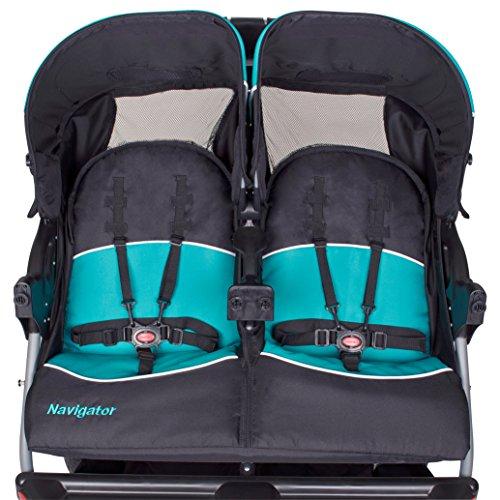 51yoj8l0zDL - Baby Trend Navigator Double Jogger Stroller, Tropic