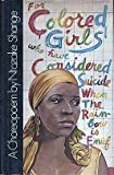 For Colored Girls Who Have Considered Suicide, When the Rainbow Is Enuf, Ntozake Shange, 0026098407