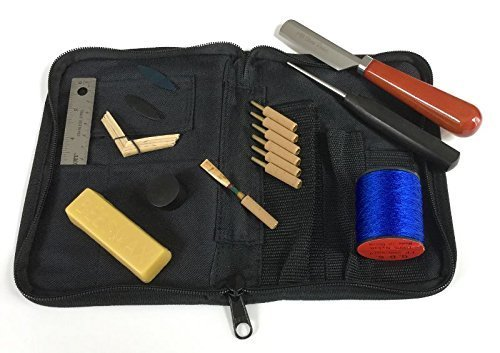 Oboe Reed Making Kit with Right Hand Knife by HB Oboe Reeds