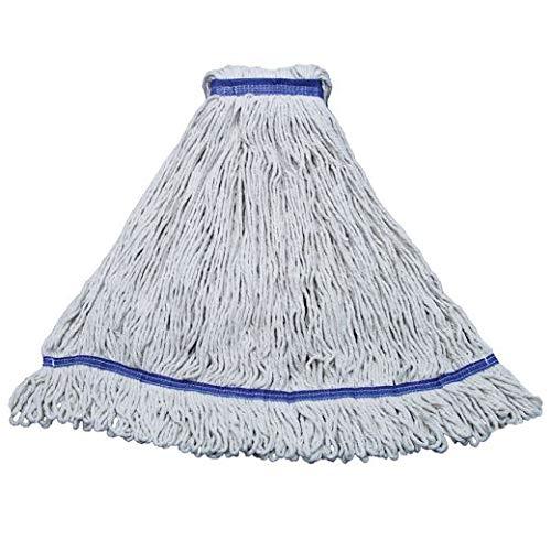 Eliminator Blended Mop, White, Extra Large, 32 oz (10 Units)