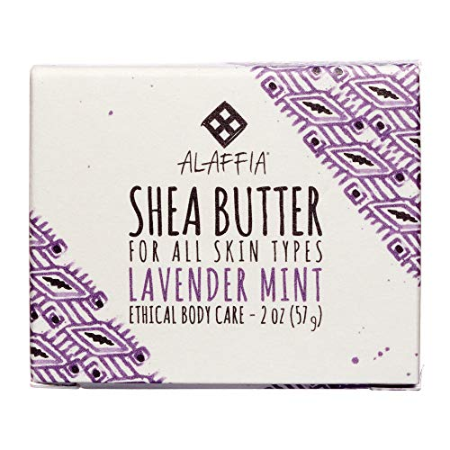 Handcrafted Shea Butter, Lavender Mint-59 ml Brand: Alaffia