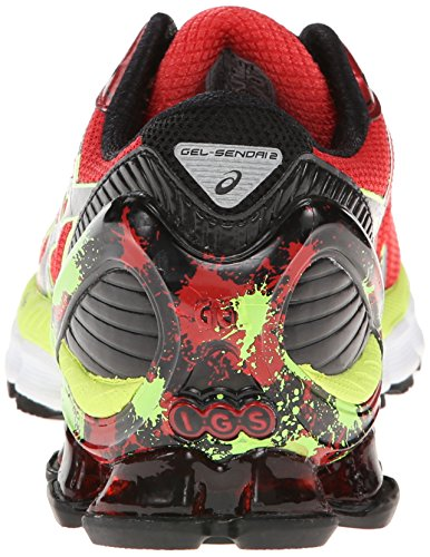 Usa Mens Asics Gel-sendai 2 - Products 6158644 Asics Men S Gel Sendai 2 Running Shoe High Risk Red Black Flash Green 12 5 M Us