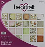 Heartfelt Creations Sunrise Lily, 12 Designs/2 Each Double-Sided Paper