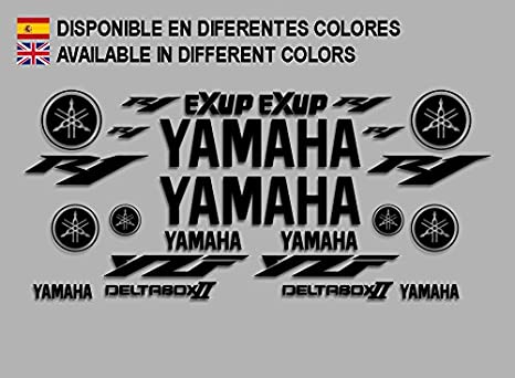 Autocollants Stickers Moto R1 Deltabox III F145 Stickers Autocollants Autocollants