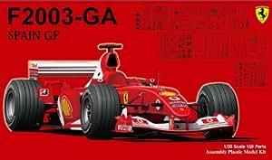 Ferrari F2003-GA Spain GP (1/20 scale Model Car) Fujimi GP-36   Grand Prix [JAPAN] (japan import)