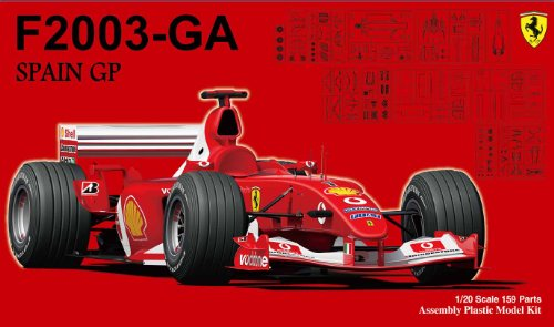 Ferrari F2003-GA Spain GP (1/20 scale Model Car) Fujimi GP-36 | Grand Prix - F2003 Ferrari Ga