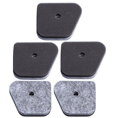 - HIPA (Pack of 5) Air Filter for STIHL FS87 FC100 FC110 FC90 HL100 HL90 HT100 HT131 KM100 KM110 Trimmer