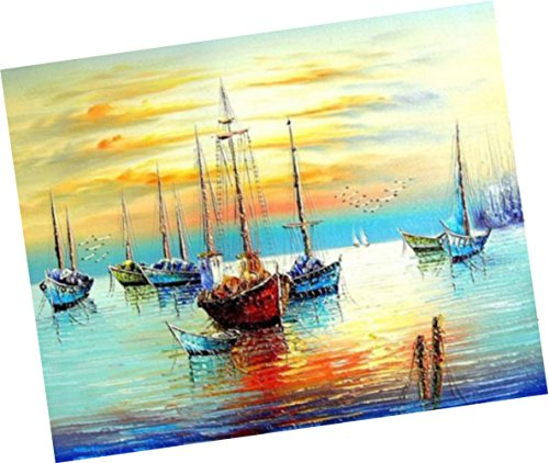 Wowdecor Paint by Numbers Kits for Adults Kids, Number Paint