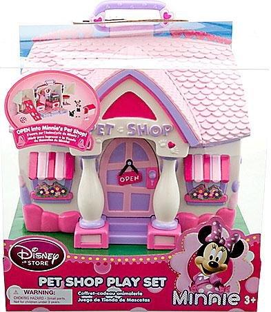 Disney Exclusive Minnie Mouse Pet Shop Playset - Exclusive Minnie Mouse