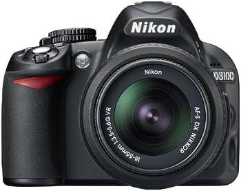 Nikon D3100 14.2MP Digital SLR Camera w/ Lenses