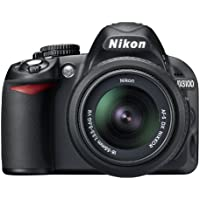 Nikon D3100 14.2MP Digital SLR Camera with 18-55mm f/3.5-5.6 VR & 55-200mm f/4-5.6G IF-ED AF-S DX VR Nikkor Zoom Lenses