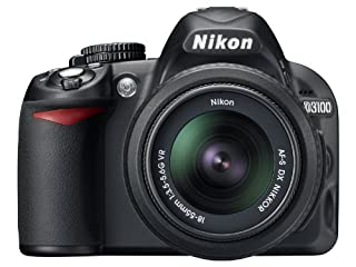 Nikon D3100 14.2MP Digital SLR Camera with 18-55mm f/3.5-5.6 AF-S DX VR Nikkor Zoom Lens (B003ZYF3LO) | Amazon price tracker / tracking, Amazon price history charts, Amazon price watches, Amazon price drop alerts