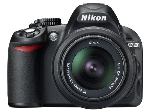 Nikon D3100 14.2MP Digital SLR Camera with 18-55mm f/3.5-...