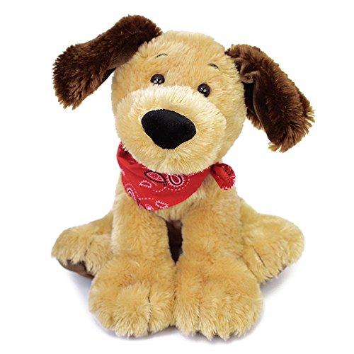 GUND Bandit Dog Stuffed Animal Plush, Brown, 9
