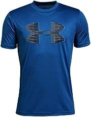 Under Armour Boys' Tech Big Logo Solid T-Shirt