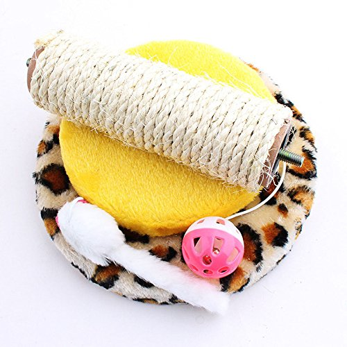 SlimArmor(TM) Funny Pet Cat Toys False Mouse Scratch Board With Ball Cat Climbing Tree 202115cm