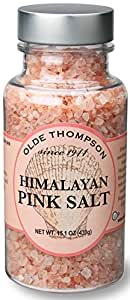Olde Thompson Himalayan Pink Coarse Crystals Salt Mill Refill, 15.1 oz, Clear