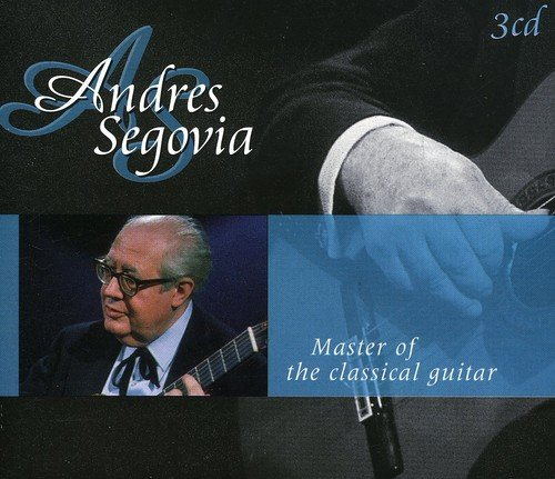 CD : Andrés Segovia - Master Of The Classical Guitar (Holland - Import, 3PC)